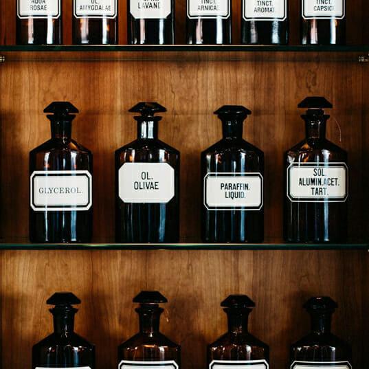 Apotheken Flaschen